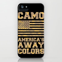 America's Away Colors iPhone & iPod Case by LookHUMAN