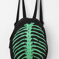 Deena & Ozzy Skeleton Spine Glow-In-The-Dark Backpack