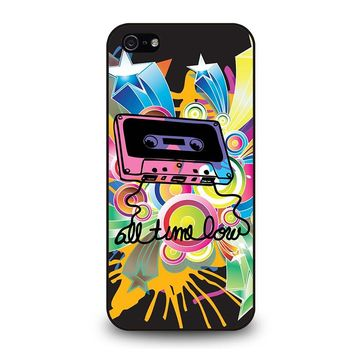 ALL TIME LOW RETRO CASSETE iPhone 5 / 5S / SE Case Cover