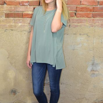 What I Like Solid Top: Olive