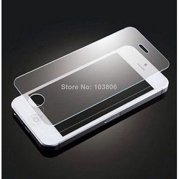 9H Tempered Glass Screen Protector+ Stylus (free gift) for iPhone 5S 5C