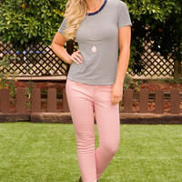 Try To Skinny Jeans - Blush