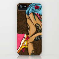 Chocolate BubbleGum iPhone & iPod Case by McfreshCreates