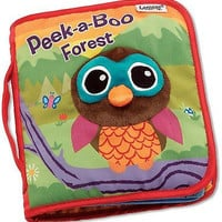 Lamaze Cloth Book, Peek-A-Boo Forest Gift Baby Fun New Free Ship