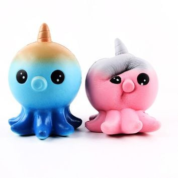Unicorn Octopus Scented Squishy