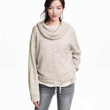 H&M Wool-blend Cowl-neck Sweater $34.99
