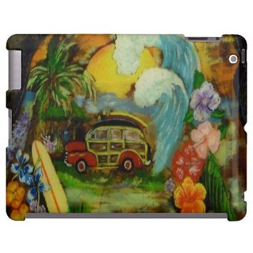 Hand painted Woody Surfing Art from Zazzle.com
