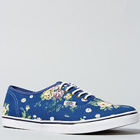 The Authentic Lo Pro Sneaker in Blue Floral
