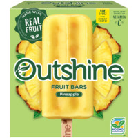 Outshine Pineapple Frozen Fruit Bars 6 ct Box
