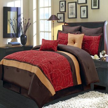 RED Atlantis Comforter Set