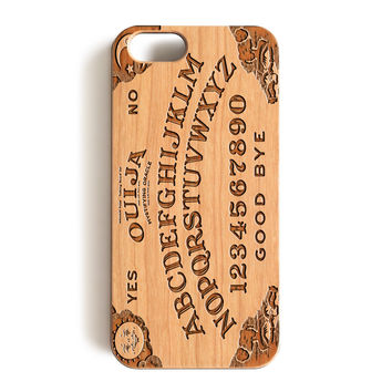 Wood Case, Ouija Board Spooky Wood-Pattern Case For iPhone 6 7 Case 4.7'' iPhone 6 7 Plus Case 5.5''