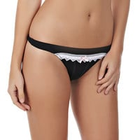 Coquette Thong - Black