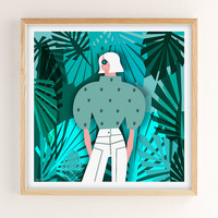 Veronica Grech Tropical Mood Art Print | Urban Outfitters