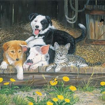 Best of Friends 63pc Jigsaw Puzzle