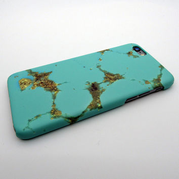 Vintage Mint Marble Stone iPhone 5se 5s 6 6s Plus Case Cover  + Nice Gift Box 267