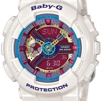 CASIO Baby-G Baby G BA-112-7A White Ladies Watch