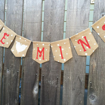 Be Mine Banner, Valentines Day Decor, Valentines Day Sign - Valentine Day Banner Sign- Valentines Day Bunting - Photo Pro