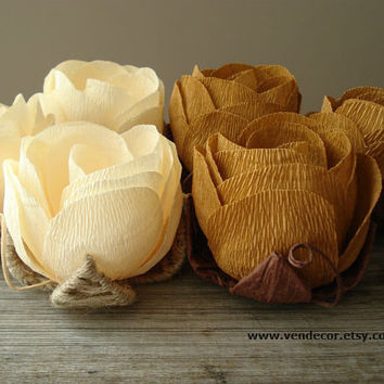 Autumn Wedding Decor, Wedding Table Flowers- Set of 6, Rustic Chic Wedding Centerpiece, Fall Autumn Table Centerpiece, Fall Wedding Flowers