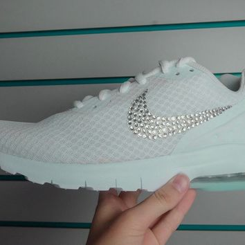 CLEARANCE -Nike Air Max Thea + Crystals - size 2Y