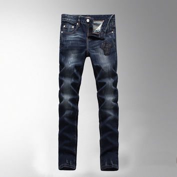 Men's Fashion Fashion Slim Denim Men Pants Jeans [6528575683]