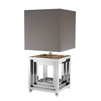 Gray Table Lamp | Eichholtz Bellagio