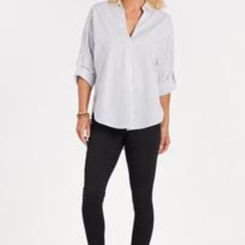 Mix Stripe Shirt by LUSH