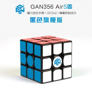 Gan356 Air SM 3x3x3 Speedcube Black Magic Cube GAN Air SM Magnetic 3x3x3 Speed Cube Gans 356 Air SM Puzzle Toys For Children