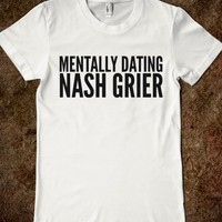 MENTALLY DATING NASH GRIER T-SHIRT (IDB910356)