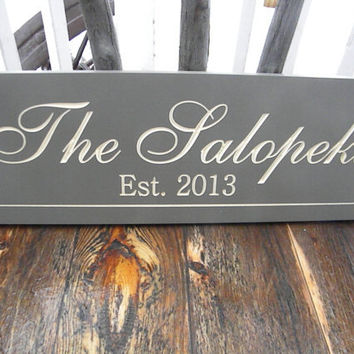 best personalized family name plaques products on wanelo