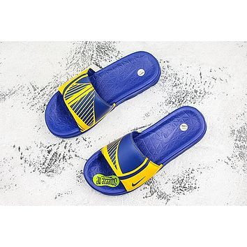 Nike Benassi Solarsoft Nba Golden State Warriors Slider Slipper