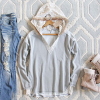 Fable & Fringe Lace Sweatshirt