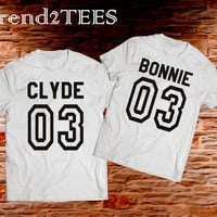 Couple tees Bonnie and Clyde 03