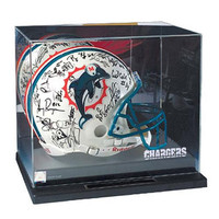 San Diego Chargers NFL Liberty Value Full Size Football Helmet Display Case