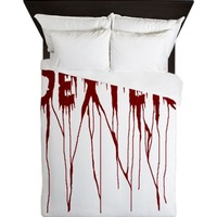 Dexter Blood Splatter Queen Duvet