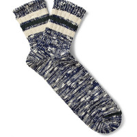Anonymous Ism - Marled Cotton-Blend Socks | MR PORTER