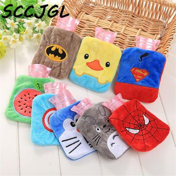 Creative Cute Avengers Batman Cartoon Totoro Kawaii Hello kitty Novelty Baymax Hand Feet Warming Hot Water Bag Bottles