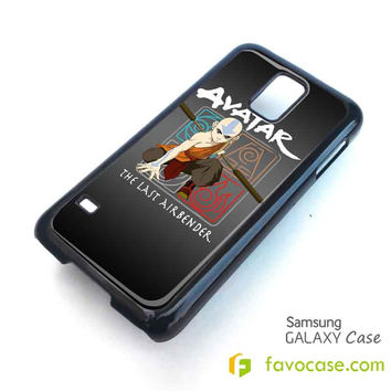 AVATAR AANG THE LAST AIRBENDER Samsung Galaxy S2 S3 S4 S5, Mini, Note, Tab Case Cover