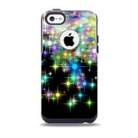 Multicolored Glistening Lights Skin for the iPhone 5c OtterBox Commuter Case