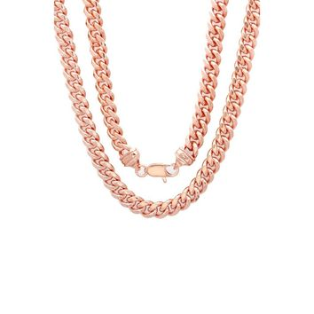 Cuban Necklace (Rose Gold)