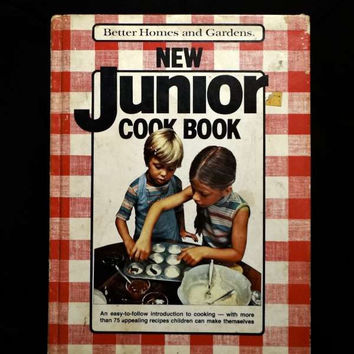 Better Homes and Gardens New Junior Cook Book by Meredith Corporation (Hardcover 1983)