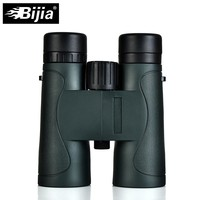 BIJIA Military HD 10x42 Binoculars Professional Hunting Telescope High Quality Vision No Infrared Eyepiece Army Green