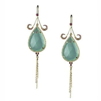 Roseark - Hanut Singh Tear Drop Earrings