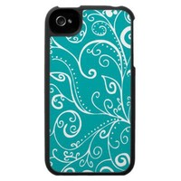 Silent Era | Robin Blue Iphone 4 Case by Janet Antepara