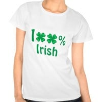 100% Irish - T-shirt