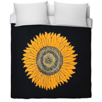 sunflower comforter