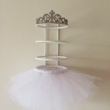 hair clip holder,hair bow holder, princess decorations, tutu decoration, hair bow stand, baby nursery, hair bow organizer, hair clip display