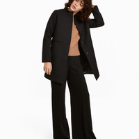 Short Wool-blend Coat - from H&M