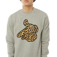 Crooks & Castles Sweatshirt Air Gun Gray