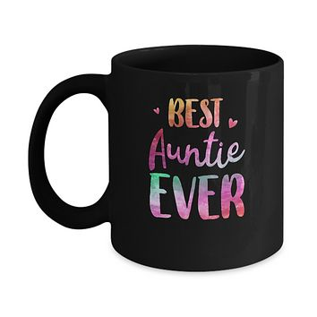 Best Auntie Ever Cute Funny Mothers Day Gift Mug