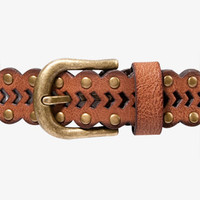 Boho Scalloped Faux Leather Belt | FOREVER 21 - 2042931331